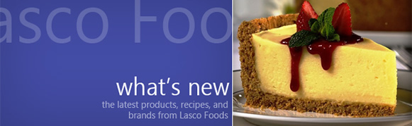 Lasco foods cheesecake mix
